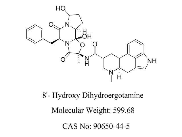 Featured Product 8'- hydroxy dihydroergotamine available at pharmACE Research Laboratory(www.pharmaceresearch.com)