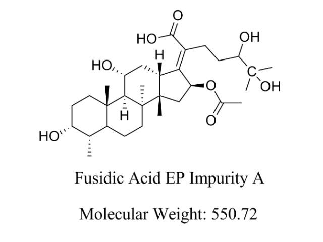 Featured Product Fusidic Acid Impurity A available at pharmACE Research Laboratory(www.pharmaceresearch.com)