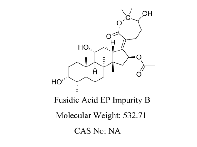 Featured Product Fusidic Acid Impurity B available at pharmACE Research Laboratory(www.pharmaceresearch.com)