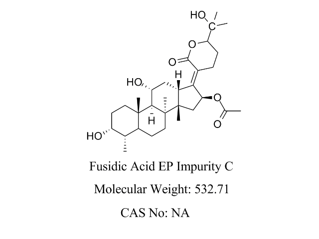 Featured Product Fusidic Acid Impurity C available at pharmACE Research Laboratory(www.pharmaceresearch.com)