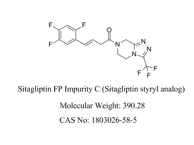 Featured Product Sitagliptin FP Impurity C available at pharmACE Research Laboratory(www.pharmaceresearch.com)