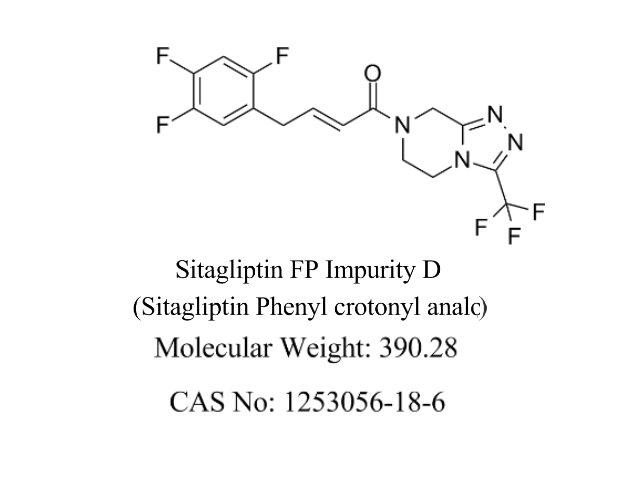 Featured Product Sitagliptin FP Impurity D available at pharmACE Research Laboratory(www.pharmaceresearch.com)